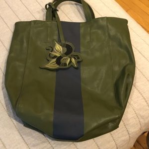 Saks Fifth Avenue Leather Tote